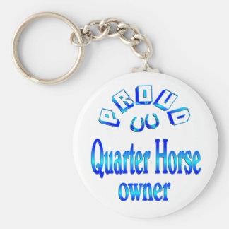 Quarter Horse Owner Key Chain