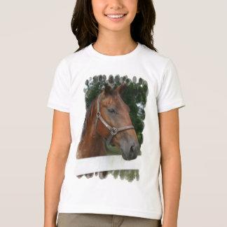 Quarter Horse Photo Girl's T-Shirt