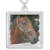 Quarter Horse Photo Necklace
