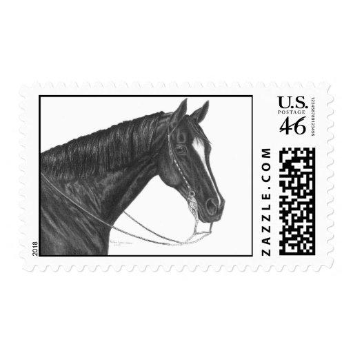 Quarter Horse Stamp