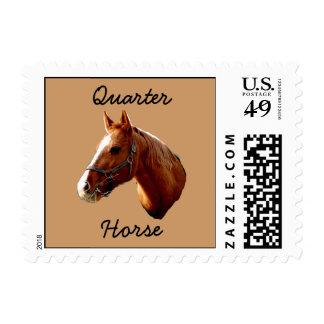 Quarter Horse - postage stamps