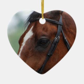 Quarter Horse Profile Ornament