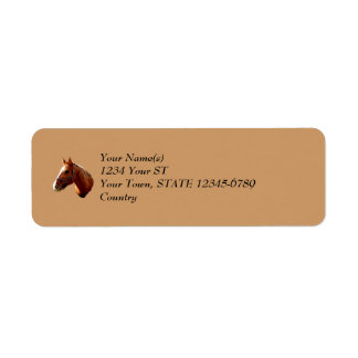 Quarter Horse - return address labels