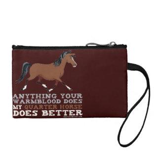 Quarter Horses Do It Better Change Purse