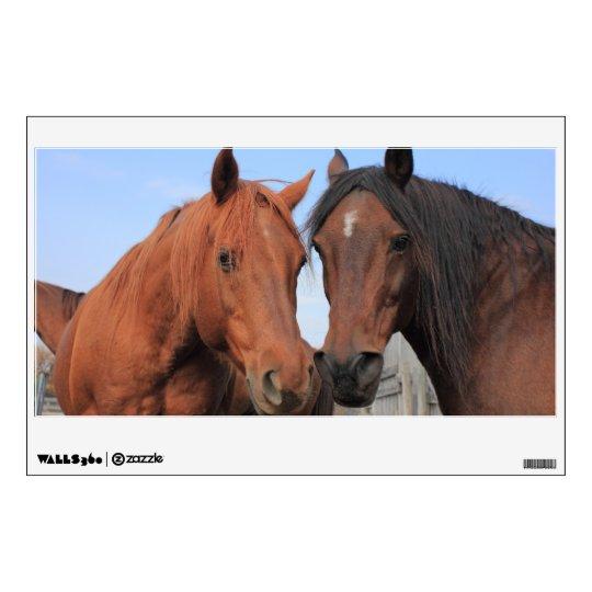 Quarter Horses Wall Decal