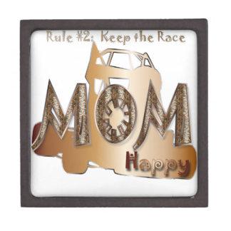 Quarter Midget Race Mom Premium Gift Box