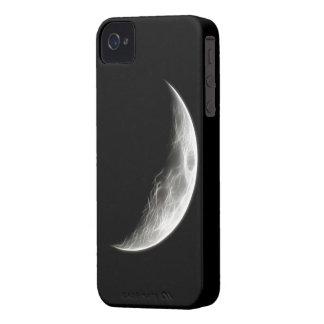 Quarter Moon Lunar Planet Globe iPhone 4 Case-Mate Cases