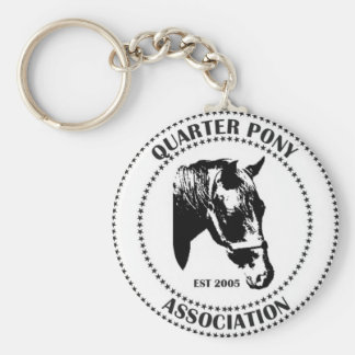 Quarter Pony Association Official Logo Key Chain