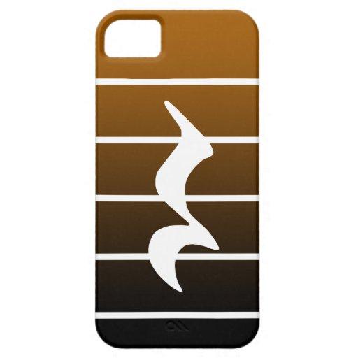 quarter rest2 iPhone 5 funda