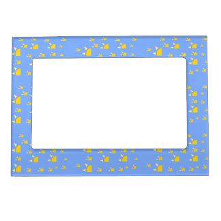 Quarter sun pale blue yellow magnetic frames