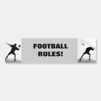 Quarterback Bumper Sticker