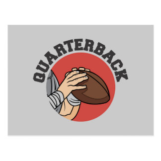 Quarterback Football T-shirts and Gifts Post Card
