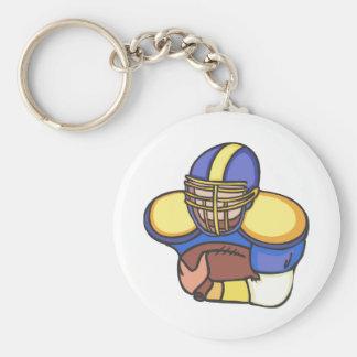Quarterback Keychain