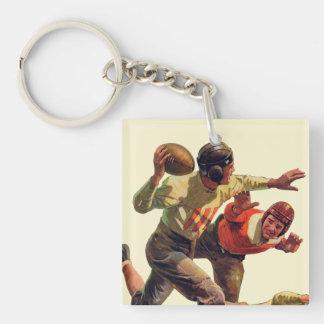 Quarterback Pass Keychain