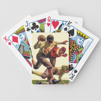 Quarterback Pass Bicycle Playing Cards