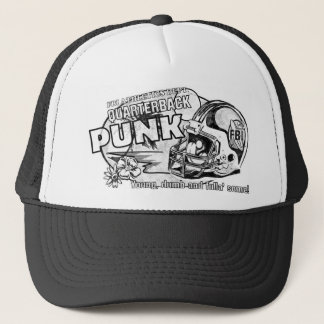 'Quarterback Punk' mesh truckers hat