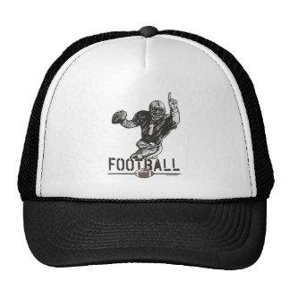 Quarterback Sports Art by Mudge Studios Trucker Hat