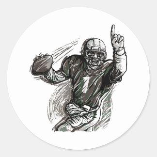 Quarterback Sticker