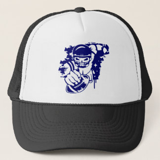 quarterback trucker hat