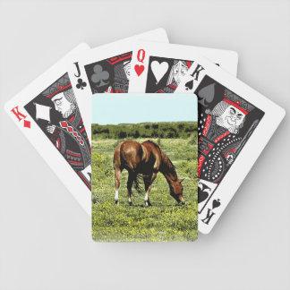 Quarterhorse Bicycle Playing Cards