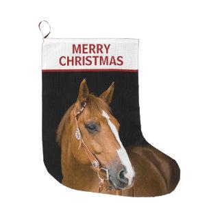 Quarterhorse Merry Christmas Stocking
