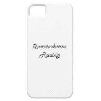 Quarterhorse Racing Classic Retro Design iPhone 5 Cases