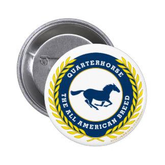 Quarterhorse - The all American Breed Pinback Buttons