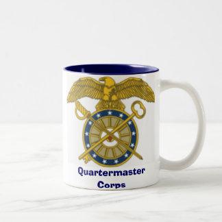 quartermaster corps, Quartermaster Corps Two-Tone Coffee Mug