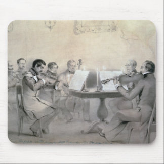 Quartet of the Composer Count A. F. Lvov, 1840 Mouse Pad