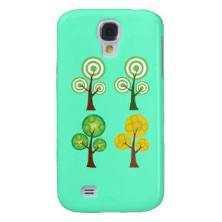 Quartet of Trees Galaxy S4 Case