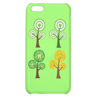 Quartet of Trees iPhone 5C Case