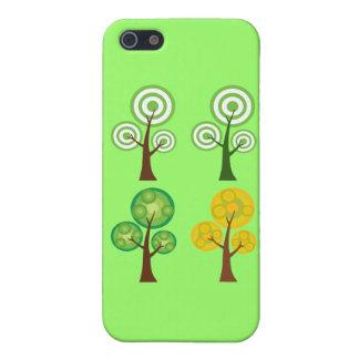 Quartet of Trees iPhone 5 Cover