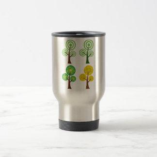 Quartet of Trees Travel Mug