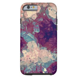 quartz crystal gem cluster iPhone 6 case