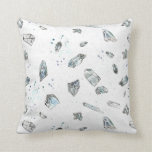 Quartz Crystals Pillow Rocks Geology Illustration