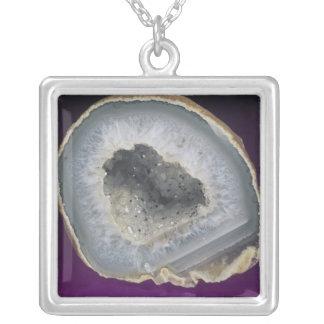 Quartz Geode Cut Open Jewelry