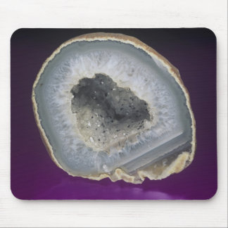 Quartz Geode Cut Open Mouse Pad
