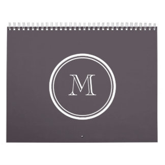 Quartz High End Colored Personalized Calendar