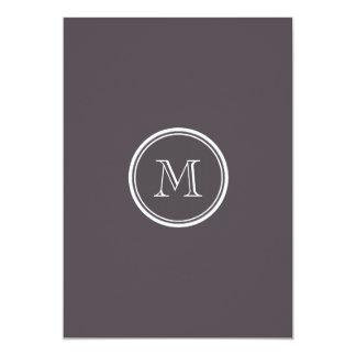 Quartz High End Colored Personalized 5x7 Paper Invitation Card