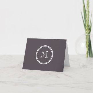 Quartz High End Colored Personalized Note Card