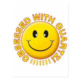 Quartz Obsessed Smile Post Cards