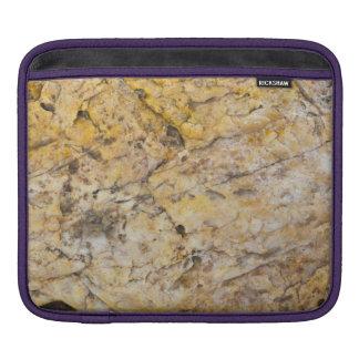 Quartz Rock Grain Sleeve For iPads