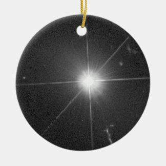 Quasar 3C 273 Christmas Ornament