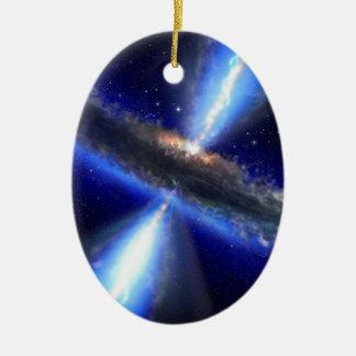 Quasar Ceramic Ornament