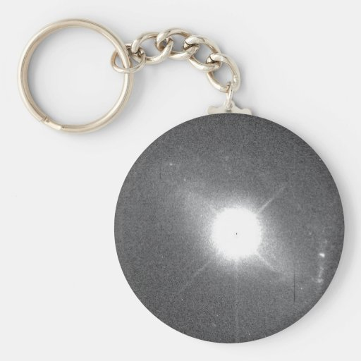 Quasar Lies in Core of Colliding Galaxy Keychains