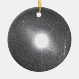 Quasar Lies in Core of Colliding Galaxy Christmas Ornament