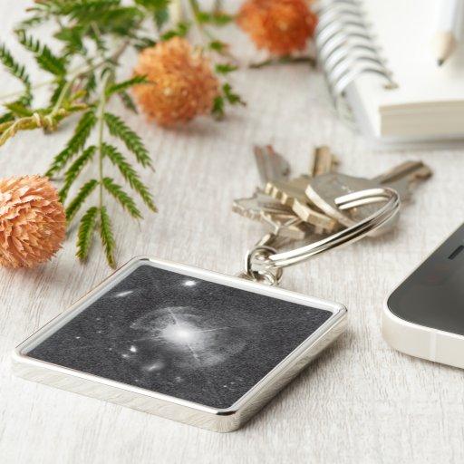 Quasar MC2 1635+119 (Enhanced) Keychain