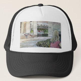 Quasi-Oriental Rock Garden Trucker Hat