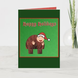 Quasimodo Christmas Card