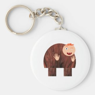 Quasimodo Keychain